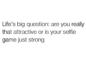 Selfie game